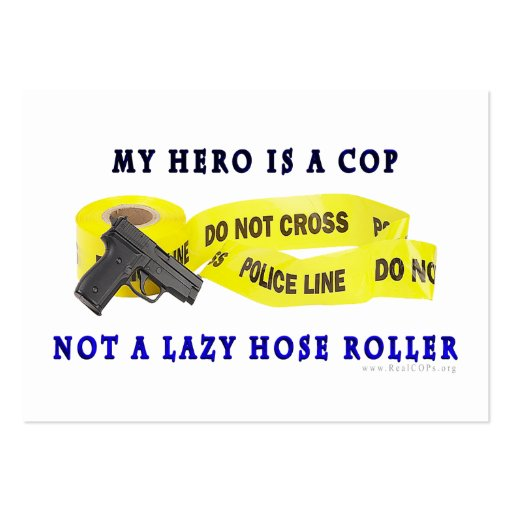 COP Hero Police Business Cards Pack 100