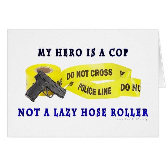 COP Hero Police Card