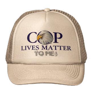 COP LIVES MATTER HAT