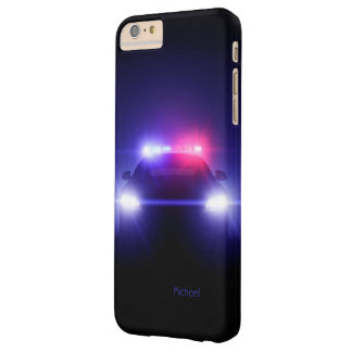 Cop Police Car Full Lights Blinking Barely There iPhone 6 Plus Case