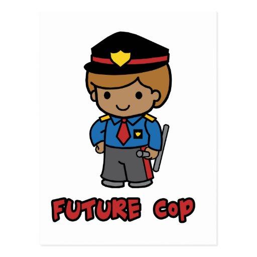 Cop Postcard