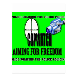 COP WATCH POSTCARD