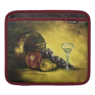 Copa de vino con la manga del iPad de la fruta Funda Para iPads