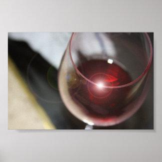 Copa de vino póster