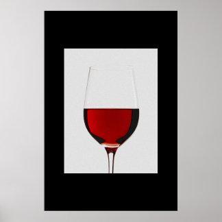 copa de vino poster