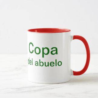 Copa del abuelo (grandfather's cup) mug