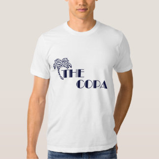 Copa Navy On White T-shirt