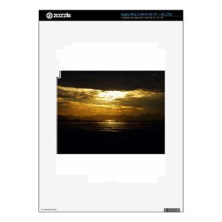 Copacabana Beach in Rio de Janeiro 2 Skins For iPad 3