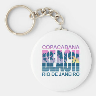 Copacabana Beach Key Chain
