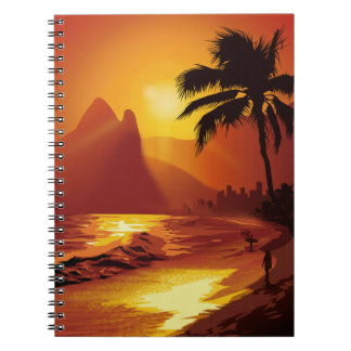 Copacabana Beach Notebook