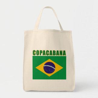 COPACABANA Beach Tshirts, Gifts Grocery Tote Bag
