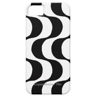 copacabana blanco y negro RJ iPhone 5 Cárcasas