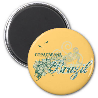 Copacabana Brazil Tshirts and Gifts 2 Inch Round Magnet
