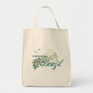 Copacabana Brazil Tshirts and Gifts Canvas Bags