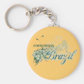 Copacabana Brazil Tshirts and Gifts Key Chain