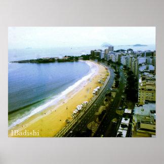 Copacabana Curve Poster