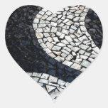Copacabana Pegatina En Forma De Corazón