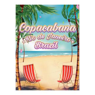 Copacabana, Rio de Janeiro beach Card