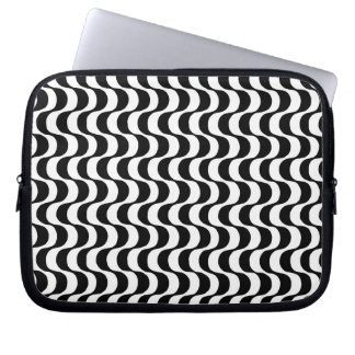 Copacabana sidewalk design computer protection laptop sleeve