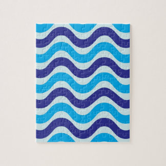 Copacabana Wave pattern,multiple products selected Jigsaw Puzzle