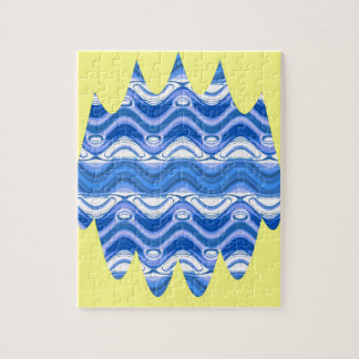 Copacabana Wave pattern multiple products selected Jigsaw Puzzle