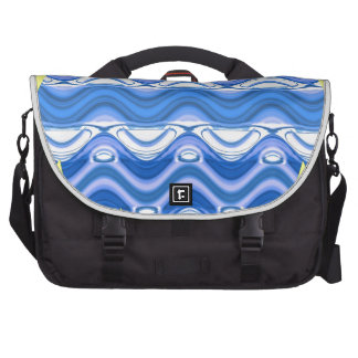 Copacabana Wave pattern multiple products selected Commuter Bags