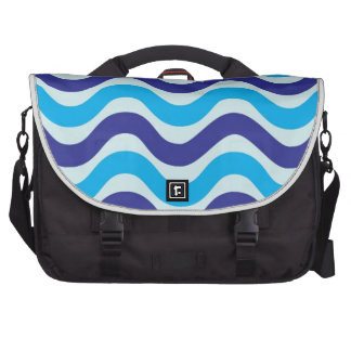 Copacabana Wave pattern,multiple products selected Laptop Bags