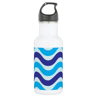 Copacabana Wave pattern,multiple selected Stainless Steel Water Bottle