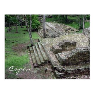 copán ancient postcard