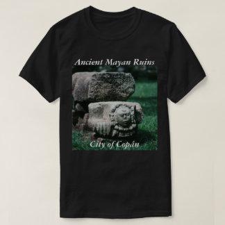 Copan Ancient Ruins Statues City Culture Mayan T-Shirt