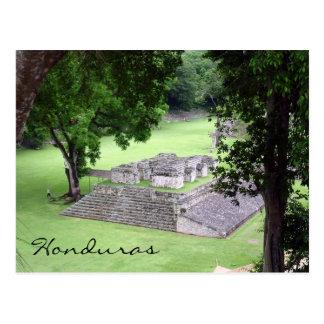 copán honduras postcard