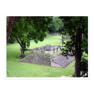 copán honduras ruins postcard