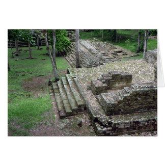 copán mayan card