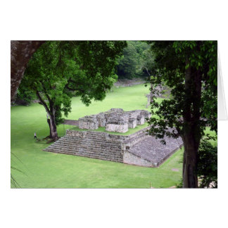 copán ruins greeting card