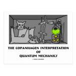 Copanhagen Interpretation Of Quantum Mechanics Postcards