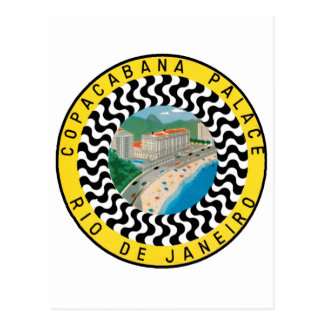 Copcabana Palace Rio De Janiero Postcard