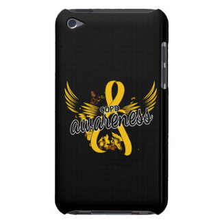 COPD Awareness 16 (Gold) Case-Mate iPod Touch Case