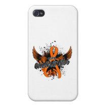 COPD Awareness 16 (Orange) iPhone 4 Cases