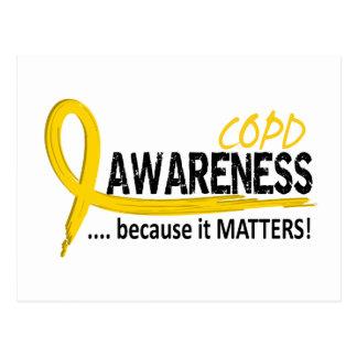COPD Awareness 2 Postcard