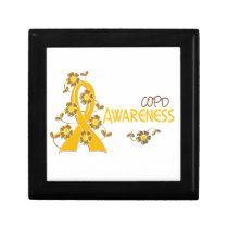 COPD Awareness 6 Jewelry Box