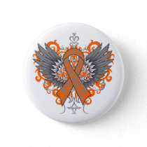 COPD Awareness Cool Wings Button