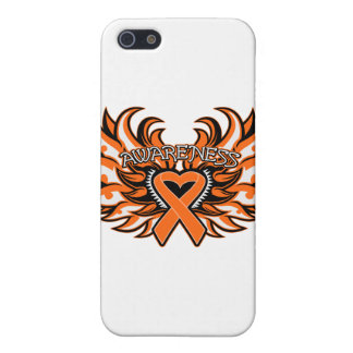 COPD Awareness Heart Wings Case For iPhone 5