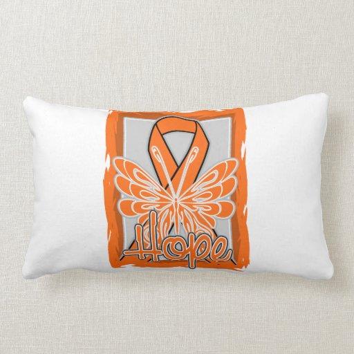 COPD Awareness Hope Butterfly Pillow