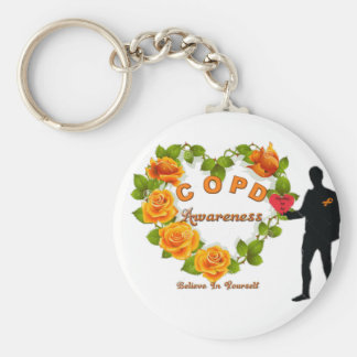 COPD AWARENESS KEYCHAIN