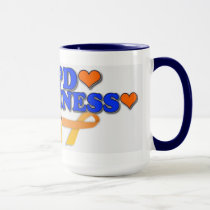 COPD AWARENESS mug