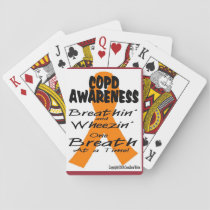COPD Awareness Playing Cards! Playing Cards