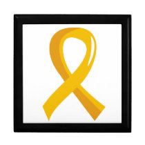 COPD Awareness Ribbon 3 Gift Box