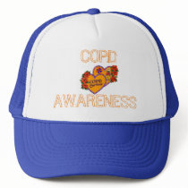 COPD AWARENESS TRUCKER HAT