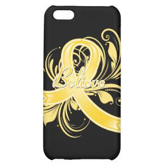 COPD Believe Flourish Ribbon iPhone 5C Cover