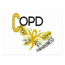 COPD Butterfly 3.1 Awareness Postcard
